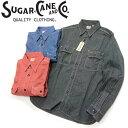 シュガーケーン SUGAR CANE [SC25511] ジーンコード ワークシャツ JEAN CORD L/S WORK SHIRT