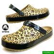 <送料無料>クロックス crocs Crocband leopard 2.0 Clog 203681-266 クロックバンド レオパード 2.0 クロッグ サンダル 豹 Camel【あす楽_土曜営業】【RCP】