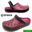 <送料無料>クロックス crocs Crocband leopard 2.0 Clog 203681-675 クロックバンド レオパード 2.0 クロッグ サンダル 豹 Berry【RCP】