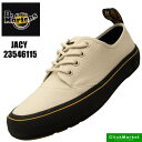 鞋子 - ドクターマーチン Dr.Martens JACY 23546115 ジェシー キャンバス ボーン スニーカー レディース