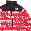 ショッピングダウンジャケット シュプリーム Supreme x THE NORTH FACE ザ・ノースフェイス Nuptse Jacket ヌプシ ダウン ジャケット RED レッド メンズ Sサイズ 【中古】 126000355033 (OUTER)