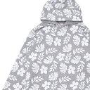 ショッピングロンハーマン ロンハーマン Ron Herman x Healthknit ヘルスニット Flower Print Pull Parka パーカー GRAY 211000587052 【新品】
