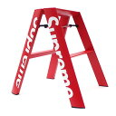シュプリーム SUPREME Lucano Step Ladder ステップラダー 脚立 RED 290004788013 190001885013 【新品】