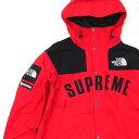 新品 シュプリーム SUPREME x ザ ノースフェイス THE NORTH FACE Arc Logo Mountain Parka マウンテン パーカー Jacket ジャケット RED 225000408143 418000734043