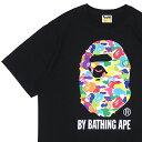 新品 エイプ A BATHING APE 19SS MILO ABC MULTI BY BATHING TEE Tシャツ BLACK ブラック 黒 メンズ 新作 1F80110045