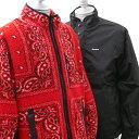新品 シュプリーム SUPREME Reversible Bandana Fleece Jacket リバーシブル バンダナ フリース ジャケット RED レッド メンズ 新作