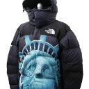 新品 シュプリーム SUPREME x ザ ノースフェイス THE NORTH FACE 19FW Statue of Liberty Baltoro Jacket バルトロ ダウン ジャケット BLACK ブラック メンズ 2019FW 19AW 2019AW 新作