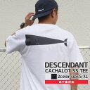 【14:00までのご注文で即日発送可能】 新品 ディセンダント DESCENDANT CACHALOT SS TEE Tシャツ メンズ 新作 201NTDS-CSM03S