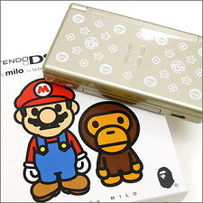 "ABATHINGAPE(エイプ)NFS限定NintendoDSLite""MARIOTOMILO""【新品】GOLD"