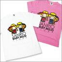 【サンリオコラボ・キッズサイズ・2カラー】A BATHING APE(エイプ)パティ&ジミーxMILO Tシャツ【新品】200-002570-130