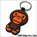 A BATHING APE(エイプ) MILO RUBBER KEY HOLDER (キーホルダー) BROWN 278-000388-016(2B20-182-074)-【新品】
