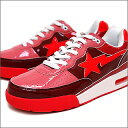 A BATHING APE(エイプ)ROAD STA【新品】RED
