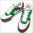 A BATHING APE(エイプ)ROAD STA【新品】WHITE/GREEN