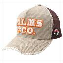 ヨシノリコタケ YOSHINORI KOTAKE x Palms co. パームスアンドコー CORDUROY MESH CAP キャップ BEIGE 251001166016 【新品】