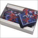Vivienne Westwood(ヴィヴィアン・ウエストウッド)ペンケースセット【新品】BLUE274-000401-014x
