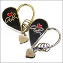 agnes b.VOYAGE (アニエスベーボヤージュ) heart ab heart logo key ring [new article] 278-000278-018x