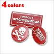 NEIGHBORHOOD(ネイバーフッド) TURN.3/M-PINS (ピンズ 3個セット) 290-003786-013-【新品】