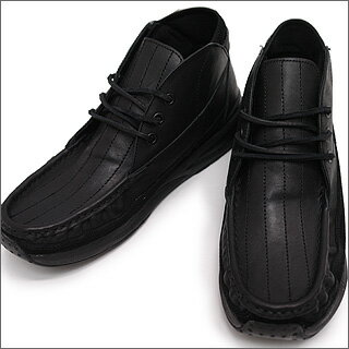 NEIGHBORHOODxVISVIMMOWAT.MOCCASINBLACK/BLACK
