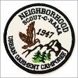 NEIGHBORHOOD(ネイバーフッド)O-RAMA パッチ ワッペン【新品】WHITE299-000213-010
