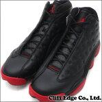 NIKE(ナイキ) AIR JORDAN 13 RETRO BLACK/GYM RED-BLACK (エアジョーダン)(スニーカー)(シューズ) 414571-003 291-001682-291+