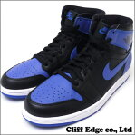 NIKE AIR JORDAN 1 RETRO HIGH OG [エアジョーダン][シューズ] BLACK/VARSITY ROYAL-BLACK 555088-085 3021716+