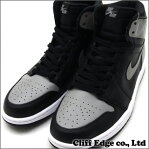 NIKE AIR JORDAN 1 RETRO HIGH OG [ジョーダン][スニーカー][シューズ] BLACK/SOFT GREY 555088-014 803-000180-311+