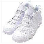 NIKE(ナイキ) AIR MORE UPTEMPO '96 (エアモアアップテンポ)(スニーカー)(シューズ) WHITE/WHITE-WHITE 921948-100 291-002253-280+