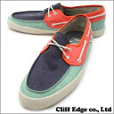 VANS Chauffeur [sneakers] [deck shoes] 80s TriTone 831-000190-289+ [new article]