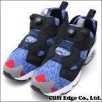 REEBOK (リーボック) x WHIZ LIMITED(ウィズリミテッド)x mita sneakers(ミタスニーカーズ) INSTAPUMP FURY OG (インスタポンプフューリー) BALCK/REEBOK ROYAL/RED M48570 291-001688-281+