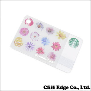 STARBUCKS ミニスターバックスカード フラワー Fragment Design(フラグメントデザイン) 【新品】WHITE 290-003090-010
