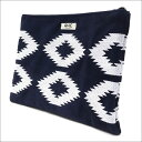 RHC Ron Herman(ロンハーマン) SUEDE CLUTCH BAG (クラッチバッグ) NAVY 277-002309-017x【新品】
