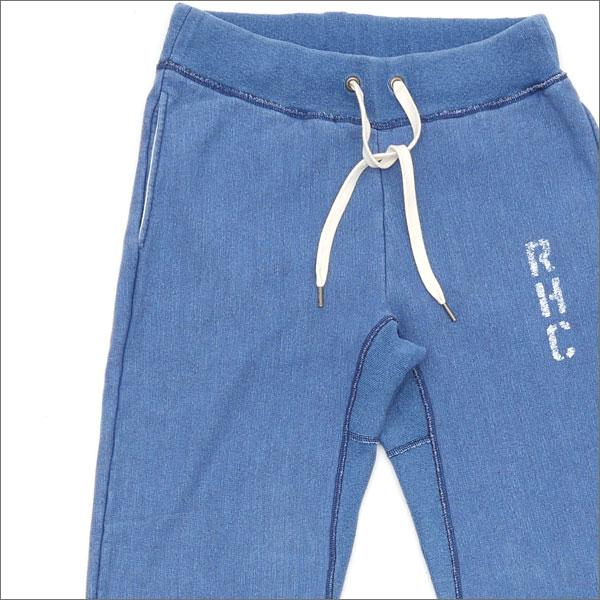 Slub Indigo Pants