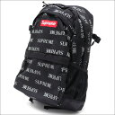 SUPREME(シュプリーム) 3M Reflective Repeat Backpack (バックパック) BLACK 276-000240-011+【新品】