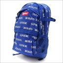 SUPREME(シュプリーム) 3M Reflective Repeat Backpack (バックパック) ROYAL 276-000240-014+【新品】