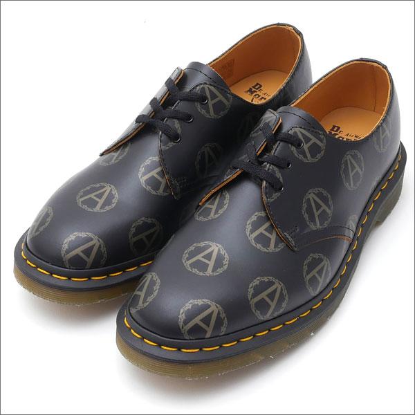 SUPREME(シュプリーム) x UNDERCOVER(アンダーカバー) x Dr.Martens(ドクターマーチン) Anarchy 3-Eye Shoe (レザーシューズ)(ローファー) BLACK 294-000060-281+【新品】