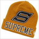 SUPREME(シュプリーム) New Era Big S Beanie (ビーニー)(ニットキャップ) MUSTARD 253-000345-118+【新品】