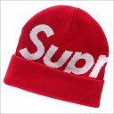 SUPREME(シュプリーム) Big Logo Beanie (ビーニー)(ニットキャップ) RED 253-000355-013+【新品】