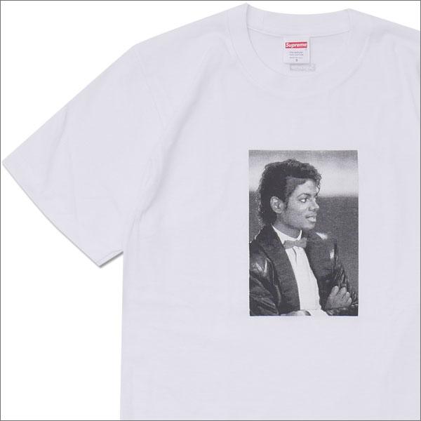 SUPREME(シュプリーム) Michael Jackson Tee (Tシャツ)(マイケル・ジャクソン) WHITE 200-007425-130+【新品】