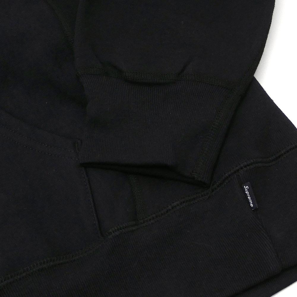 SUPREME Embossed Logo Hooded Sweatshirt (スウェットパーカー) 【新品】 211-000535-131+ (シュプリーム) BLACK