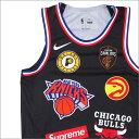 ナイキ NIKE x シュプリーム SUPREME NBA Teams Authentic Jersey タンクトップ BLACK 205000150131 【新品】