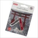 SUPREME(シュプリーム) StatGear Pocket Samurai (キーチェーン)(ナイフ) RED 278-000483-113+【新品】