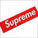 【送料無料対象外】SUPREME(シュプリーム)Box Logo Sticker[ボックスロゴステッカー]【新品】RED 290-000699-013+[☆★]