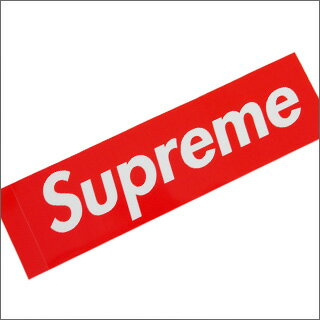 SUPREME (슈 프림) Box Logo Sticker RED 290-000699-013 +