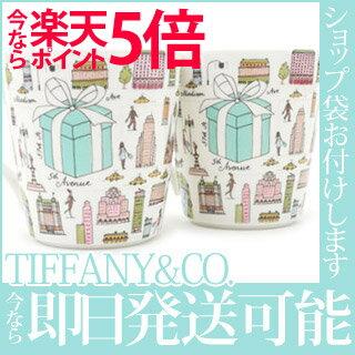 TIFFANY&CO. (티파니) 5TH AVENUE 머그잔 WHITE 290-001840-010x
