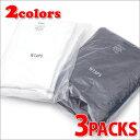 WTAPS (ダブルタップス) SKIVVIES.TEE/CREW (Tシャツ 3枚セット) 200-007035-030-【新品】