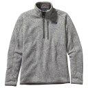 パタゴニア Better Sweater 1/4 Zip メンズ ( Stonewash )