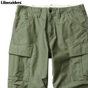 LIBERAIDERS 6 POCKET ARMY PANTS (OLIVE) #76701 リベレイダーズ パンツ