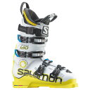 14-15 SALOMON サロモンブーツ X MAX 130 【White/Yellow】【スキーブーツ】