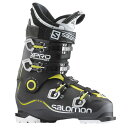 15-16 SALOMON サロモンブーツ X PRO 90 【anthracite/black/acide green】【スキーブーツ】
