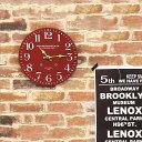 レトロ 掛け時計 ロンドン 直径28cm【掛時計 ブルックリン 壁掛け時計 おしゃれ 時計 ウォールクロック 壁掛け デザイン アンティーク ヴィンテージ 60 60センチ 大判 ブラック 黒 リビング ダイニング キッチン 一人暮らし 雑貨 かわいい インテリア】